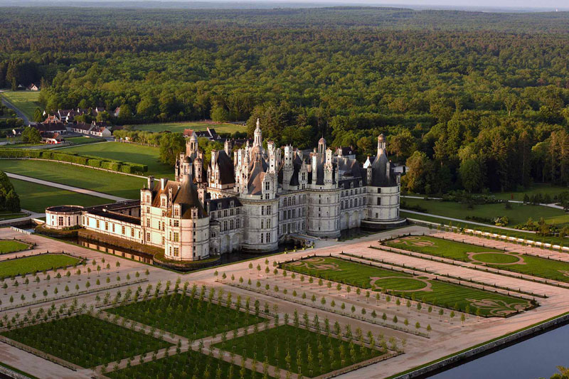 Chambord Castle trip with Destination Libre